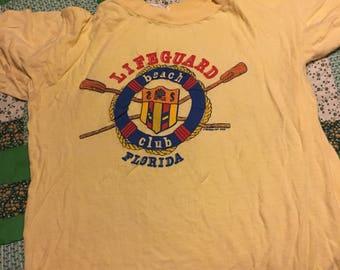 Vintage lifeguard tshirt