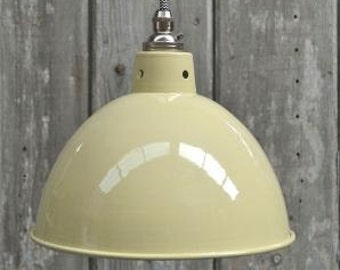 Retro style cream ceiling light shade SC2SR4