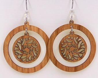 Swirl Dangle Earring