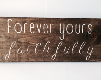 Song lyrics personalized wooden sign