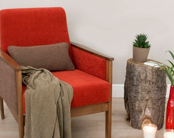 Lorre Mid Century Upcycled Armchair