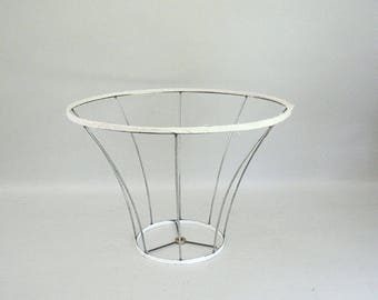 Wire lampshade frame etsy au wire vintage lampshade frame keyboard keysfo Image collections