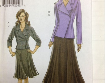 Very Easy Vogue skirt and jacket pattern