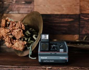 Polaroid Impulse AF 600 Series Camera Film Tested Working