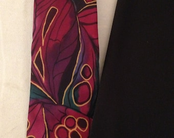 Vintage 100% Silk Tie Hand Made in Italy