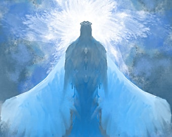 Angel #828- Angel Digital Download  Print yourself JPEG File