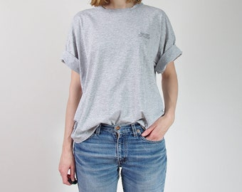 SALE 50% OFF 90s Levi's gray melange cotton t-shirt