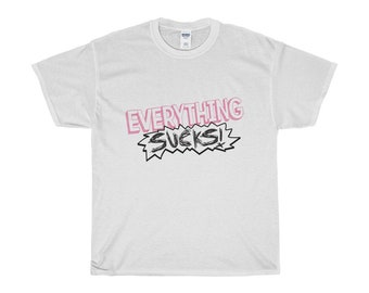 Everything Sucks Tshirt  Netflix Everything Sucks  Netflix Tee  Pop Culture TShirt