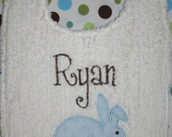 Easter Bunny Infant Bib