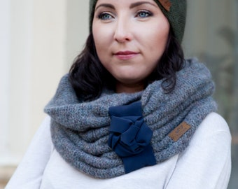 SALE 50 % OFF/ Snood / Wool snood/ Knitted snood/ scarf / gift