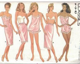 5740 Butterick Misses Sewing Pattern UNCUT Slip Camisole Panties Teddy Half Slip Lingerie 18 20 22