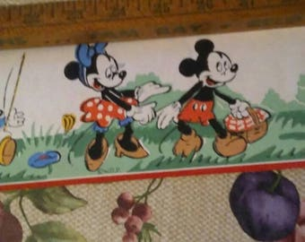 Mickey and Minnie wallpaper border