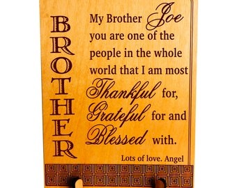 Gift for big brother gift for little awesome brother gift custom gift for my brother big brother birthday christmas gift personalized gift to twin brother gift for cousin brother plb001 negle Image collections