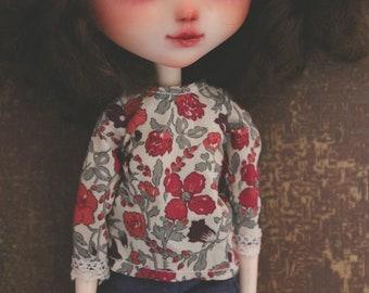 Liberty - Pullip & Blythe blouse