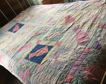 no. 5011 vintage tumbler quilt