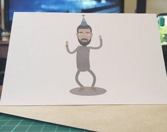 Drake Birthday Card Happy Birthday
