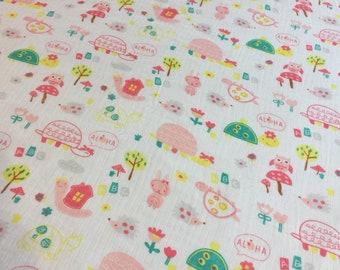 Double gauze swaddle, Muslin swaddle, receiving blanket, cotton baby blanket, baby swaddle, muslin blanket, baby girl, baby blanket, aloha