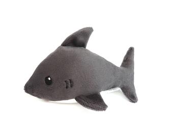 Baby Shark Plush Toy - Great White Shark Plushie - Sealife Toys
