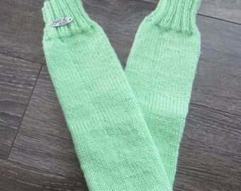Sock without heel / winter / fall / in warm/practice/grows with child/knitting