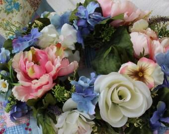 Floral Wreath, Floral Garden Crown