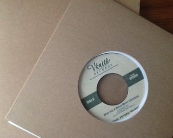 Custom Label (laid out by us from your design elements) for your custom vinyl record