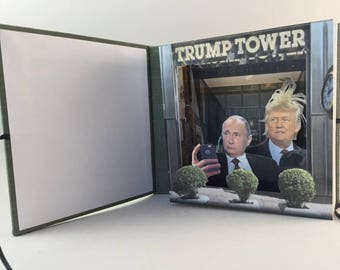 Trump & Putin Take a Selfie 3D Limited Edition Tunnel Book