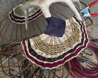 Large Whitetail Antler Basket (in progress)
