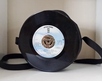 Eagles Victim of Love 45RPM Vinyl Record Purse