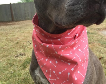 Dog bandana -Arrows