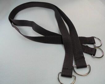 Hand pockets, 1 pair, 77,5 cm long, brown