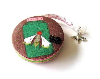 Tape Measure Bug Jars Retractable Measuring Tape