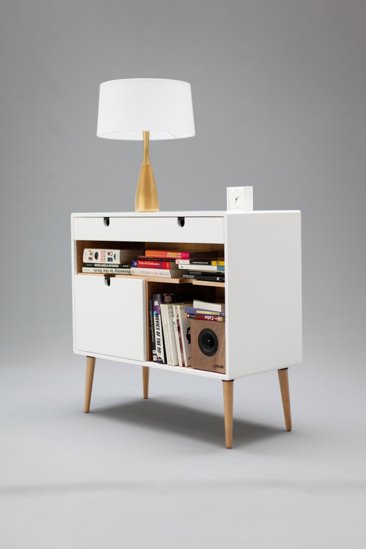 Dresser, commode, credenza in solid oak wood board, style ...