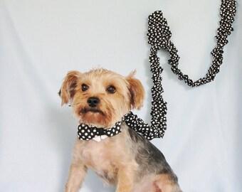 Dog Tuxedo Collar, Pet Wedding Tuxedo Collar, Dog Wedding Attire, Formal Pet Wear and Accessories, Little Dog Fashion