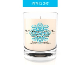 Scented Soy Wax Candle Apple Melon Orange Scented Glass Jar Candle