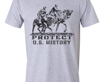 Save our Monuments Confederate Tshirt