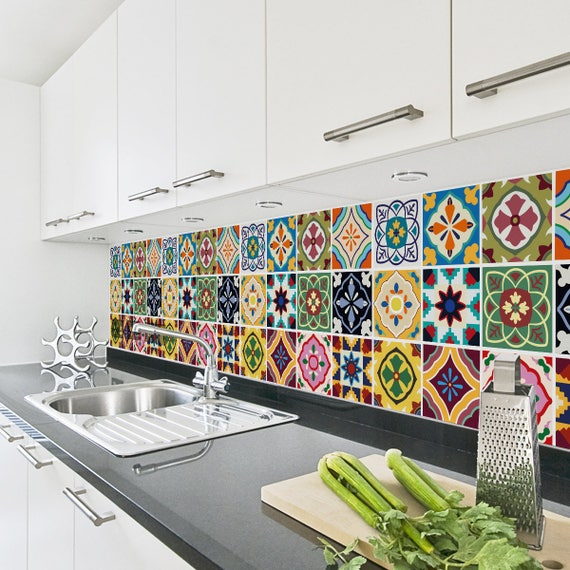 Unusual 12X12 Ceramic Tile Thin 2X4 Ceiling Tiles Home Depot Flat 2X4 Drop Ceiling Tiles 3 X 6 White Subway Tile Old 3D Ceiling Tiles Yellow4 X 12 Subway Tile Talavera Tile Decals Tile Stickers Set Talavera