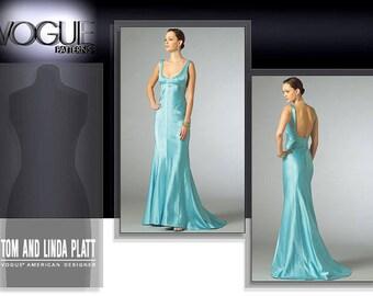 VOGUE 2964 sewing pattern. Tom and Linda Platt Vogue American Designer.  Size 12-14-16-18.  New.  Uncut.  Factory folded.