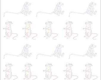 Computer Paper Lion (Jungle)