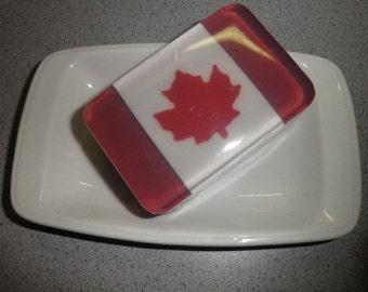Canadian Flag Soap