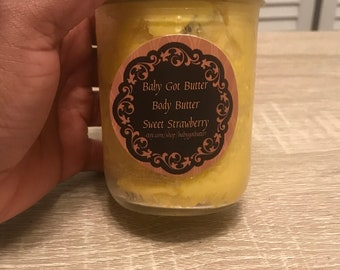 Sweet Strawberry Body Butter