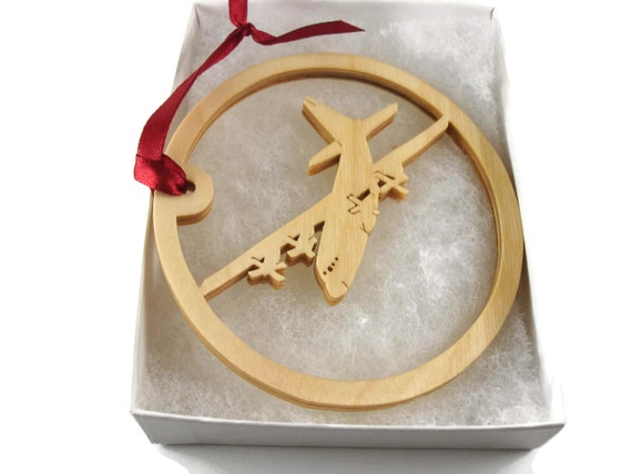 MC130H Combat Talon II Plane Christmas Ornament Handmade From Birch Wood By KevsKrafts BN-5-005