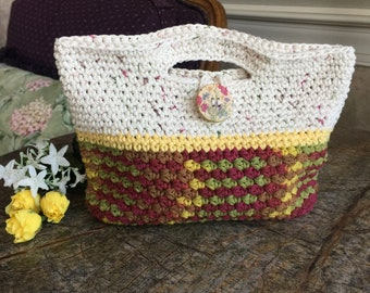 Clutch Purse, Small Purse, Bag,  Purse, Handbag, Girls Purse, Crochet Tote, Top Handle Purse, Clutch Bag, Clutch, Summer Bag, Spring