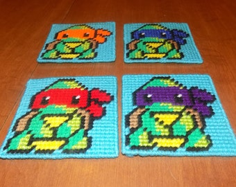 teenage mutant ninja turtles wall hanging set 1