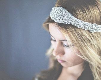 bridla headband, beautiful headband for bride