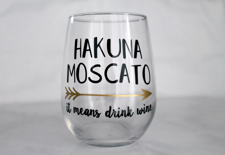 Funny Engraved Wine Glasses