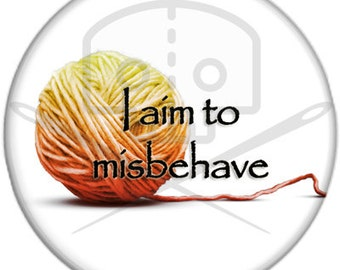 Firefly- Inspired I AIM to MISBEHAVE Button