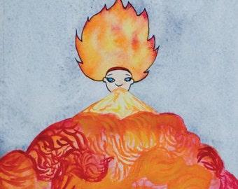 Évent de la feu (bande dessinée)