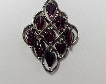 Red Leaf Necklace