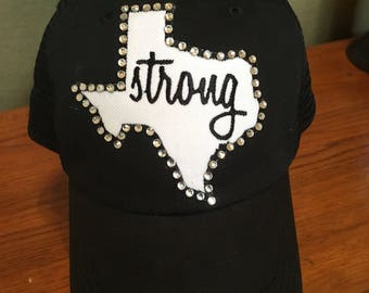 Texas Strong Bling Cap