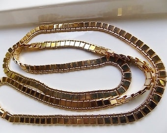 "Sale Vintage 27 7/8"" Monet Fancy Link Necklace"